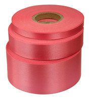 Cerise Satin Acetate Ribbon - Pink