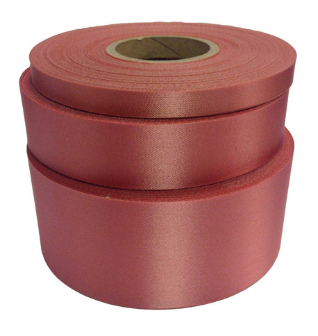Dusty pink Satin Acetate Ribbon Dusty Pink