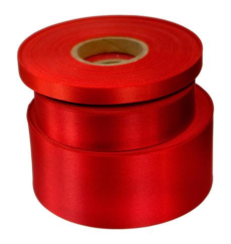 Cardinal Red Satin Acetate Ribbon Cardinal Red