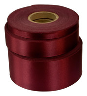 Cherry Satin Acetate Ribbon - Red