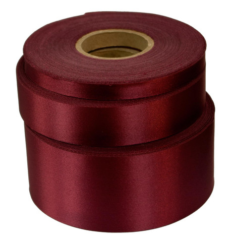 Cherry Satin Acetate Ribbon Cherry