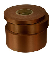 Beech Satin Acetate Ribbon - Brown