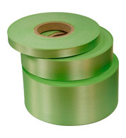 Apple Satin Acetate Ribbon - Green
