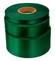 Spectrum green Satin Acetate Ribbon - Green