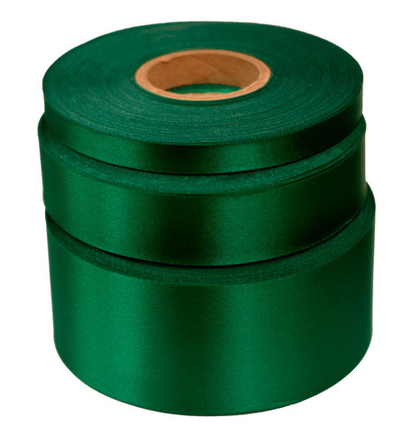 Spectrum green Satin Acetate Ribbon Spectrum Green