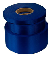 Deep Royal Satin Acetate Ribbon - Blue