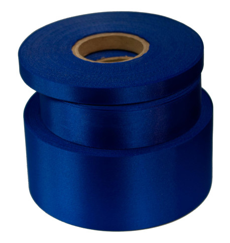Deep Royal Satin Acetate Ribbon Deep Royal