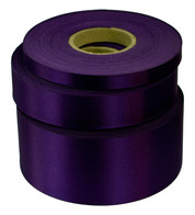 Violet Satin Acetate Ribbon - Purple