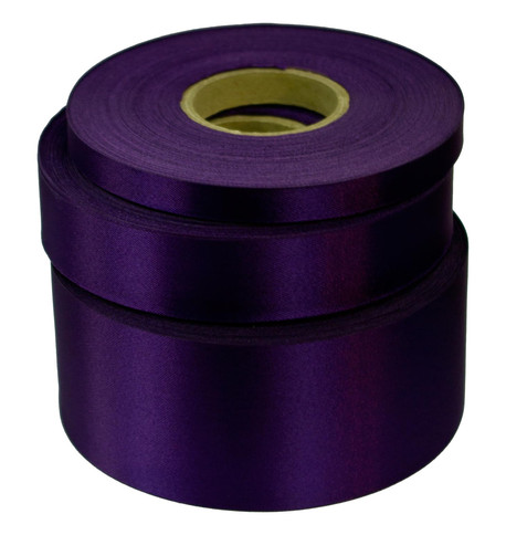Violet Satin Acetate Ribbon Violet