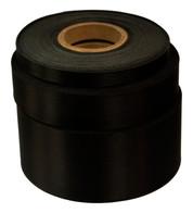 Black Satin Acetate Ribbon - Black