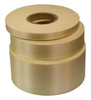 Cream Satin Acetate Ribbon - Cream