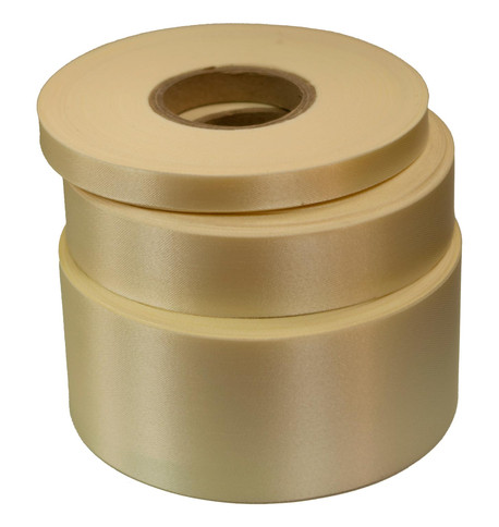 Cream Satin Acetate Ribbon Cream