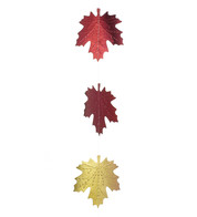 TONAL MAPLE FOIL GARLAND - Multicolour