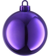 SHINY BAUBLES - ROYAL PURPLE - Purple
