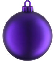 MATT BAUBLES - ROYAL PURPLE - Purple