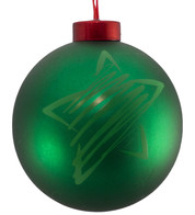 CONTEMPORARY ICON BAUBLES - GREEN STAR - Green