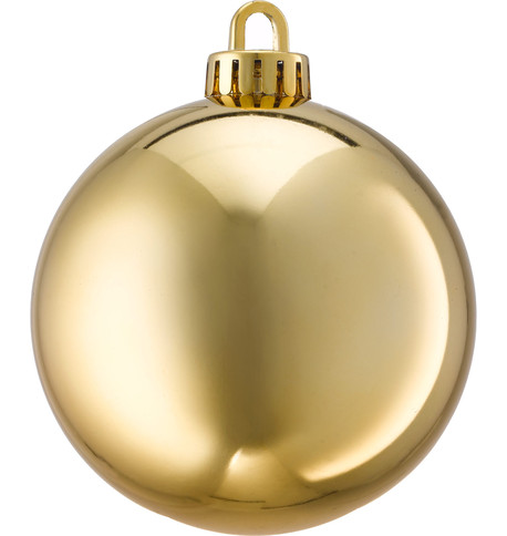 250mm SHINY BAUBLES - GOLD Gold