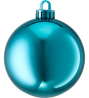 250mm SHINY BAUBLES - TURQUOISE - Blue