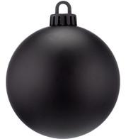 250mm MATT BAUBLES - BLACK - Black