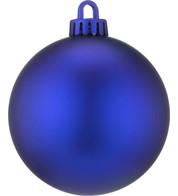 250mm MATT BAUBLES - BLUE - Blue