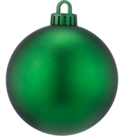 250mm MATT BAUBLES - GREEN - Green