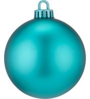 250mm MATT BAUBLES - TURQUOISE - Turquoise