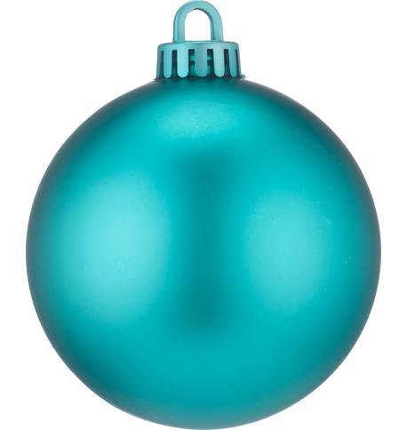 250mm MATT BAUBLES - TURQUOISE Turquoise
