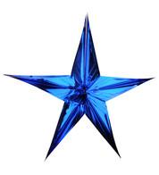 FOIL STARS - FOLD OUT - Blue
