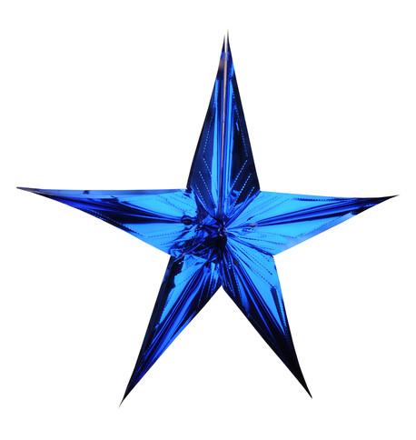 FOIL STARS - FOLD OUT Blue
