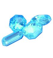 Giant Jewels - aquamarine - Green