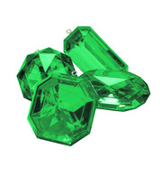 Giant Jewels - emerald - Green