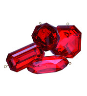 Giant Jewels - RUBY - Red