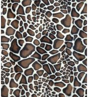 GIRAFFE TEXTURED VELVET - Brown