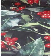 HOLLY PHOTOPRINT FABRIC - Green
