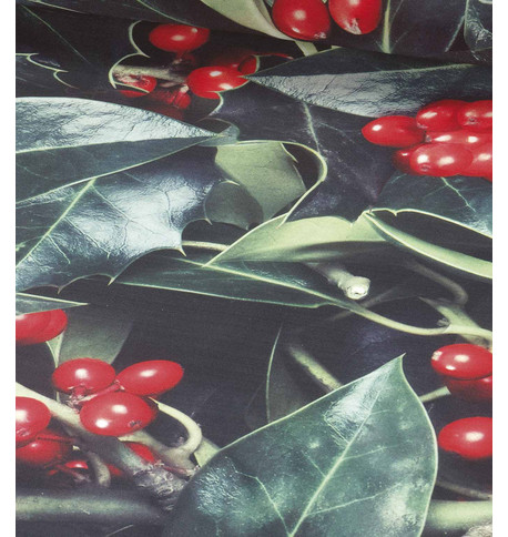 HOLLY PHOTOPRINT FABRIC Green