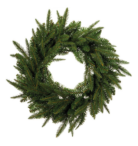 Woodland Pine Wreath Green