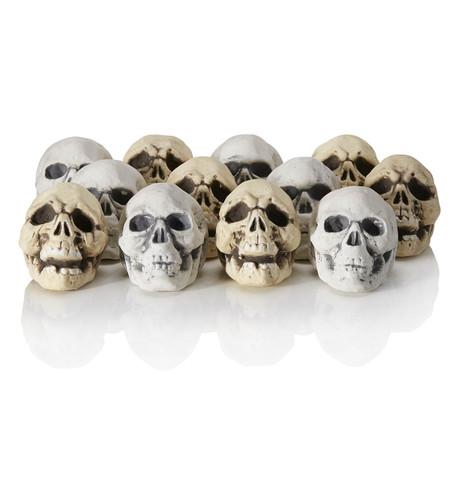 Shrunken Skulls White