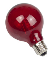Giant festoon lights - Red Spare Lamps - Red