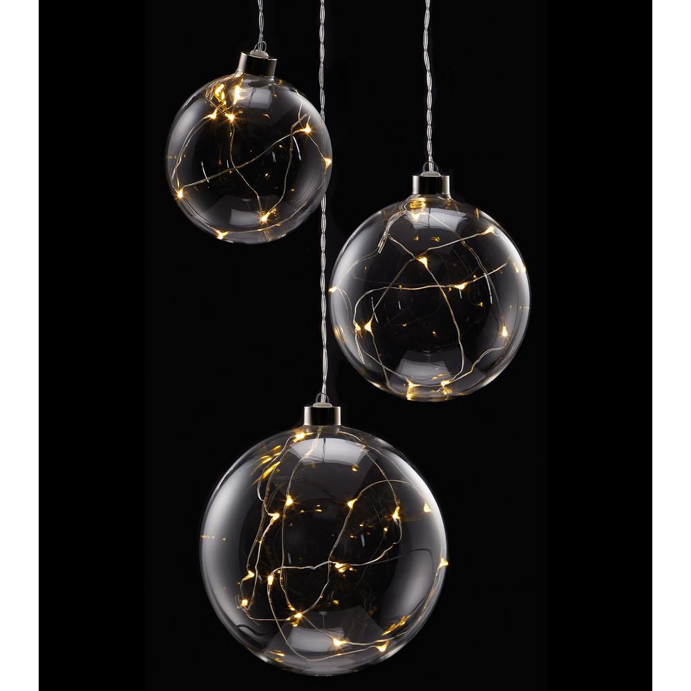 Clear Glass Ball Lights Dzd