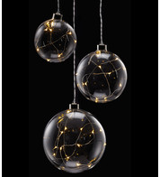 Clear Glass Ball Lights - Clear