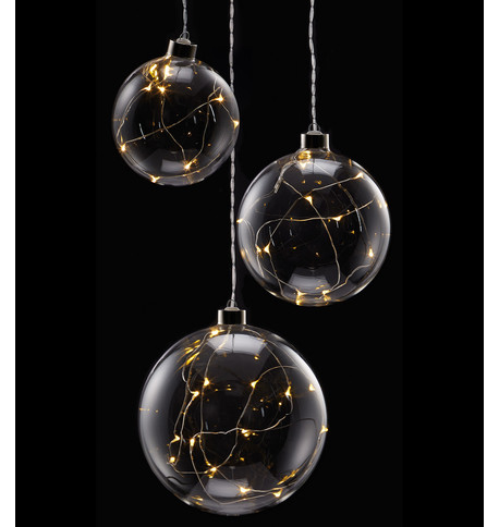 Clear Glass Ball Lights Clear