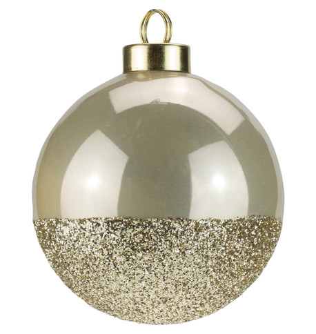 Oyster Gold Glitter Baubles Oyster