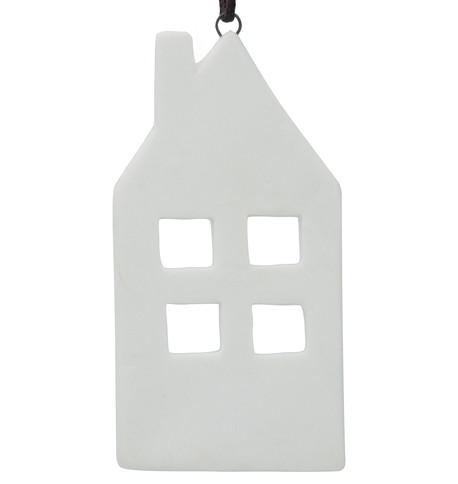 Ceramic House Decoration White