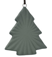 Ceramic Ridged Tree - Grey