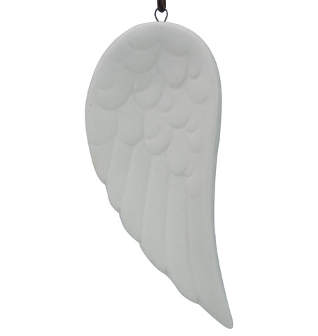 White Ceramic Wing White