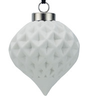 Ceramic Diamond Onion - White