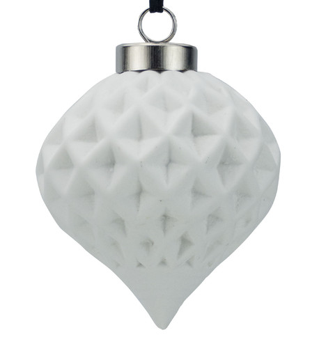 Ceramic Diamond Onion White