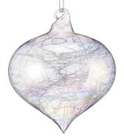 Iridescent Glass Fibre Onions - Iridescent
