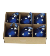 Mini Spot Blue Baubles - Blue
