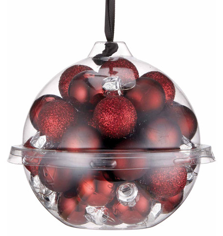 Wine Bauble Ball Set Wine
